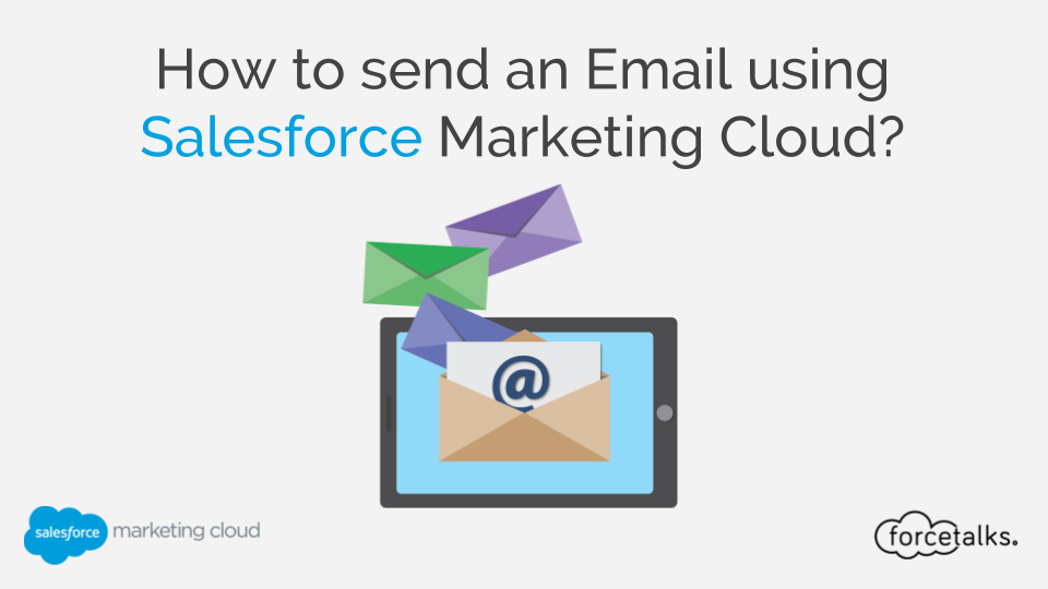 Salesforce | How to send an Email using Salesforce Marketing