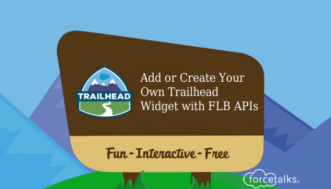 Creating and Adding a Trailhead widget