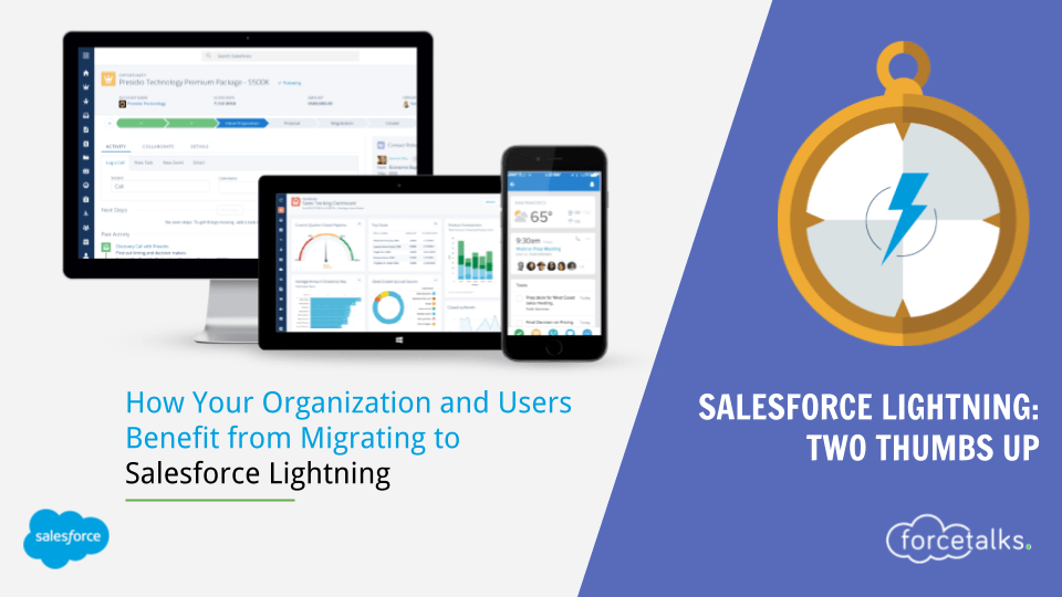 Salesforce Lightning: Two Thumbs Up