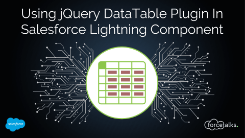 How To Use jQuery DataTable Plugin In Salesforce Lightning Component?