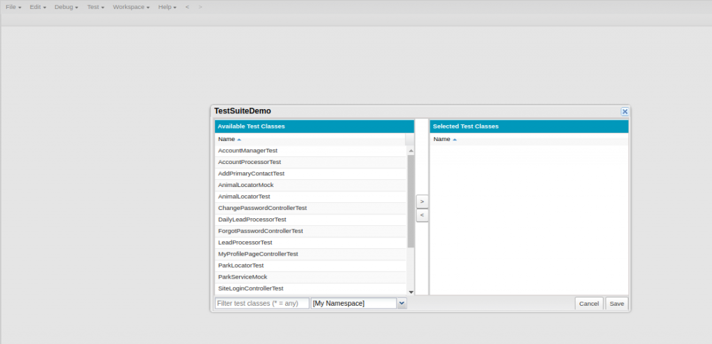 Salesforce | How to Create and Run Test Suite in Salesforce