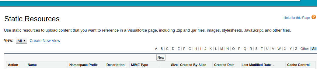 Salesforce | How to Create and Reference Static Resources in