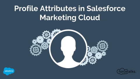 Profile Attributes in Salesforce Marketing cloud