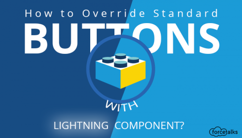 How to Override Standard Buttons With Lightning Component?