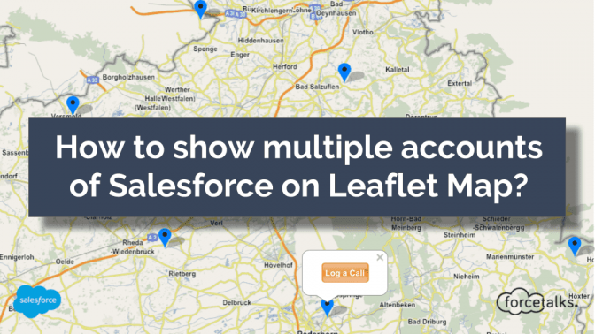 How to show multiple accounts of Salesforce on Leaflet Map?