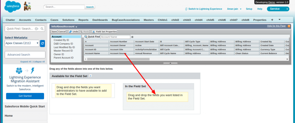 Salesforce   How to use fieldset in Salesforce Visualforce
