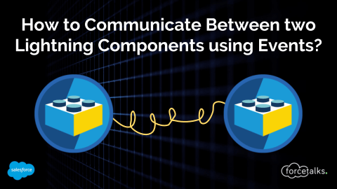 How to Communicate Between two Lightning Components using Events?