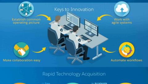 Enjoy the Salesforce Innovation Management infographic