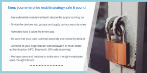 Salesforce Mobility & Security – When the user's PIN is simply not enough
