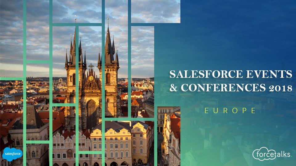 Salesforce events & conferences for fall/winter 2018 - Europe