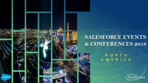 A complete list of Salesforce Events & Conferences for fall/winter 2018 – Part 2