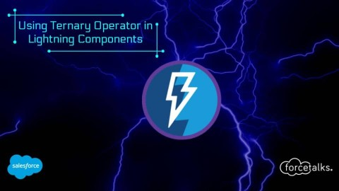 Using Ternary Operator in Salesforce Lightning Components