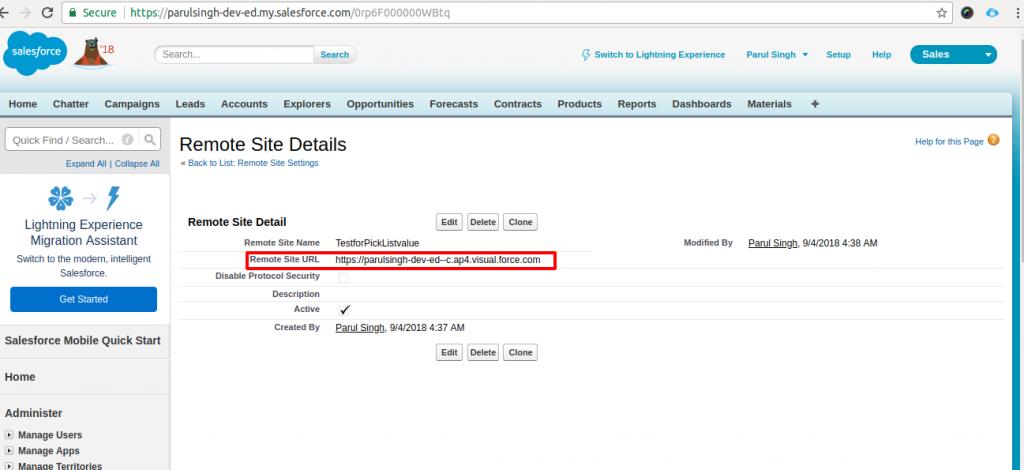 Salesforce | Retrieve picklist value of a Record Type using MetaData