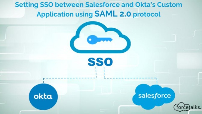 Setting SSO between Salesforce and Okta's Custom Application using SAML 2.0 protocol