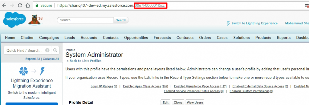 Salesforce | When you accidentally remove System Administrator
