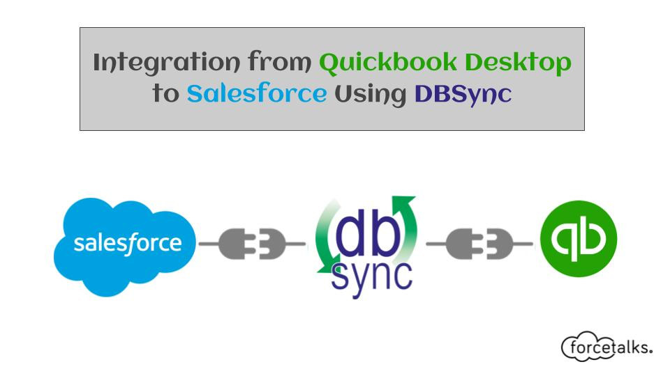 Integration from Quickbook Desktop to Salesforce Using DBSync