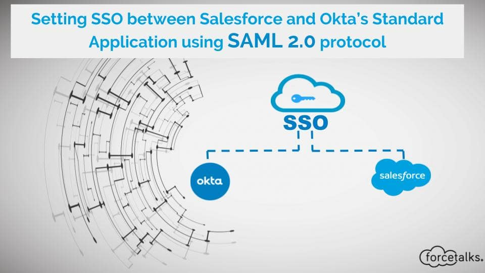 Setting SSO Between Salesforce and Okta's Salesforce.com Standard Application using SAML 2.0 protocol