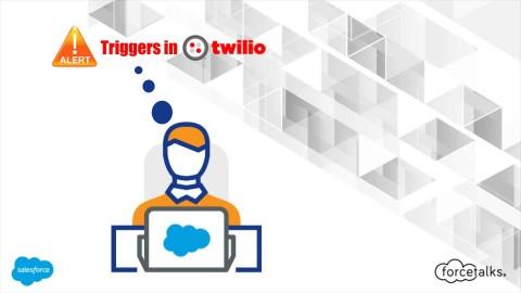 Alert Triggers in Twilio!
