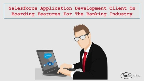 Salesforce Application Development Client On Boarding Features For The Banking Industry
