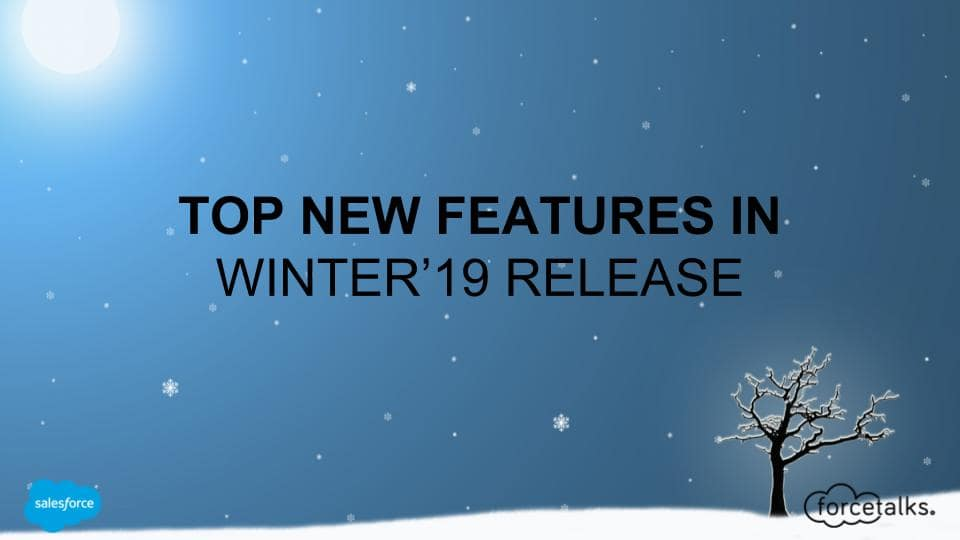 Top 12 Salesforce Winter '19 Features