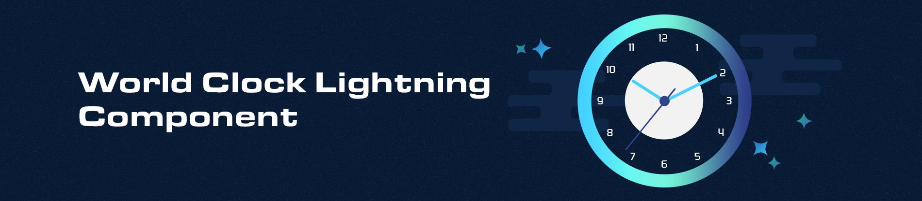 World Clock Lightning Component