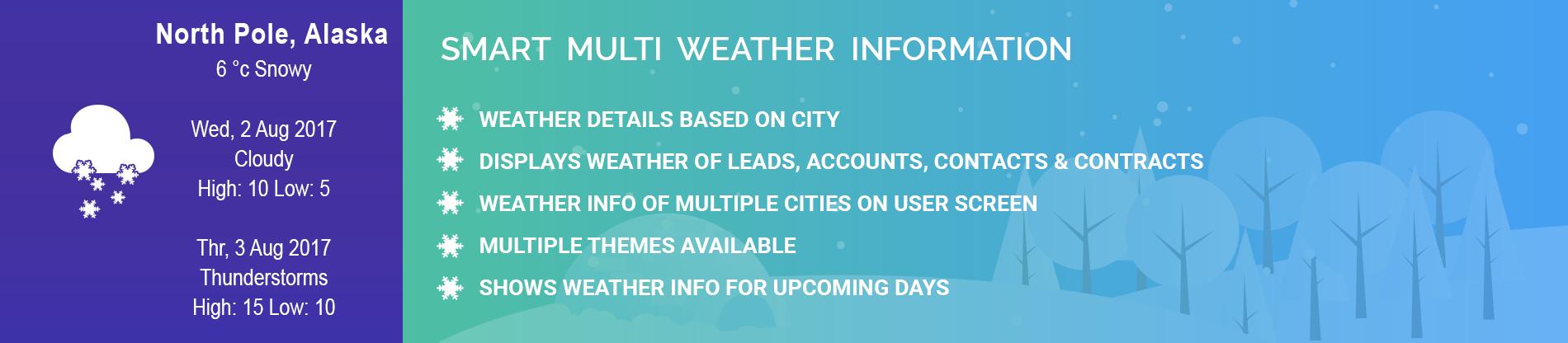 Smart Multi Weather Information