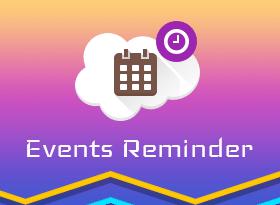 Events Reminder (Birthday Reminder)