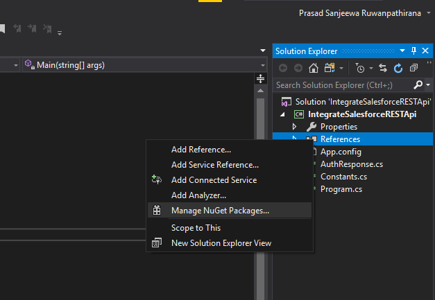 Add Newtonsoft.Json reference from Nuget package