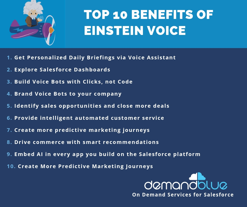 Salesforce | Salesforce Einstein Voice – Stop typing and