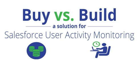 Buy vs. Build: Salesforce Shield: Event Monitoring
