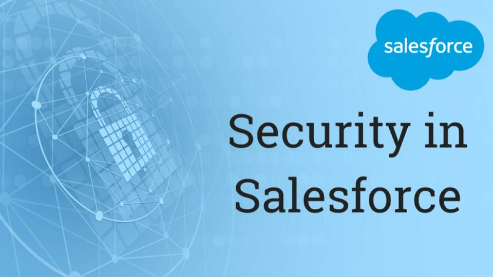 Salesforce Security Simplified