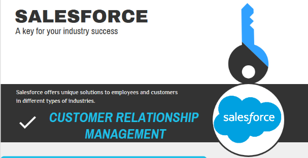 Salesforce – Key For Your Industry Solutions