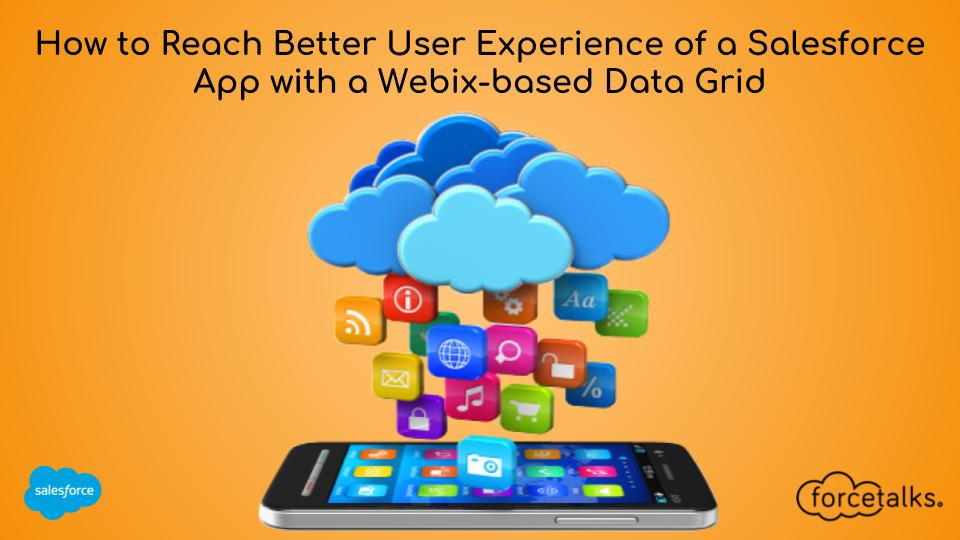 How to Reach Better User Experience of a Salesforce App with a Webix-based Data Grid