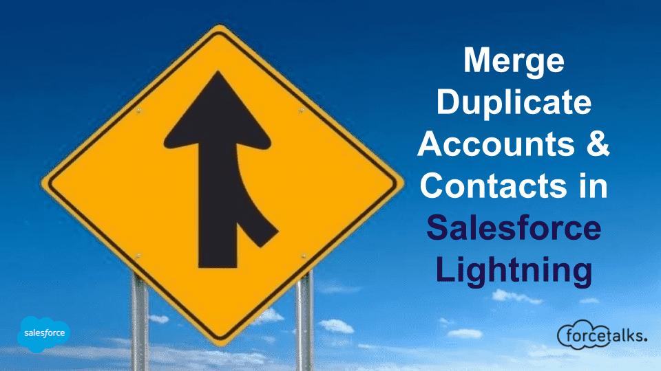 Merge Duplicate Accounts