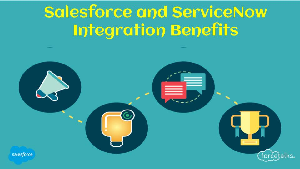 Salesforce and ServiceNow Integration Benefits