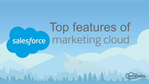 Unique Features of Salesforce Marketing Cloud