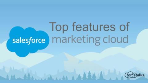 Unique Features of Salesforce Marketing Cloud