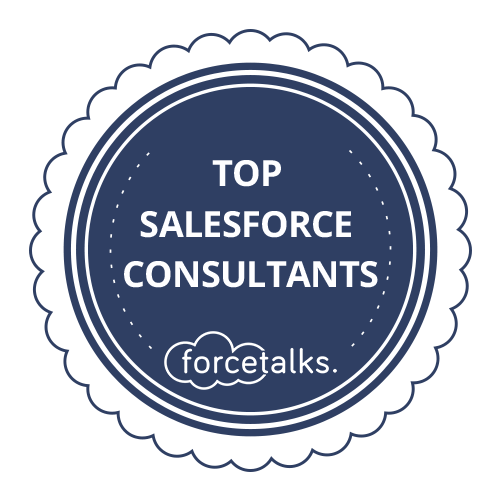 Top Salesforce Consultant Badge Dark
