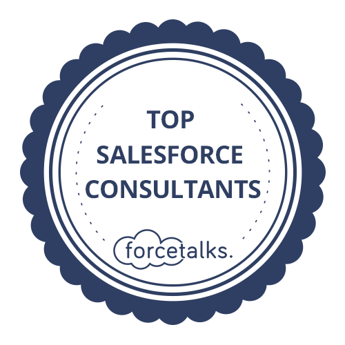 Top Salesforce Consultant Badge Light
