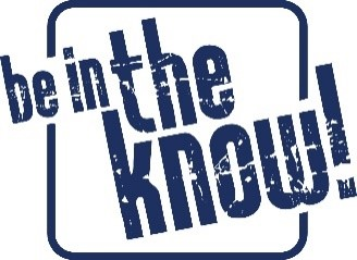 Be in the know! is written