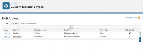 Insert and Update multiple custom metadata records through Salesforce Apex.