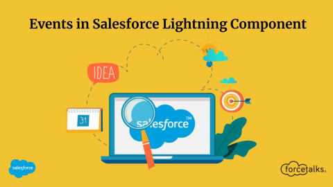 Events in Salesforce Lightning Component