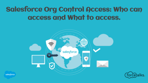 Salesforce Org Control Access: Who can access and What to access