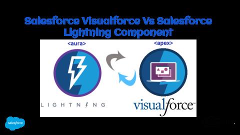 Salesforce Visualforce Vs Salesforce Lightning Component