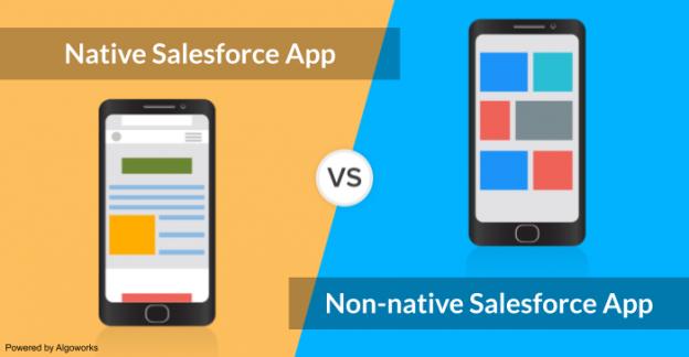 native vsnon-native salesforce apps