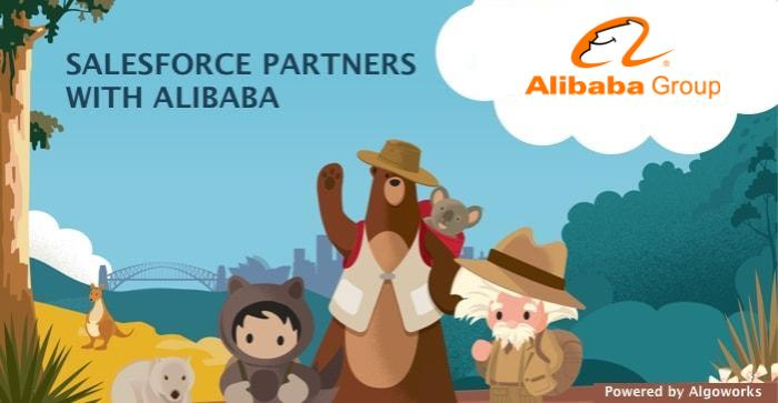 salesforce alibaba partnership