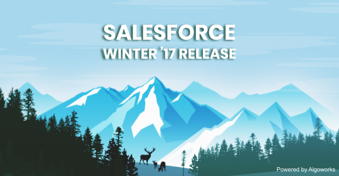 salesforce winter 17 release