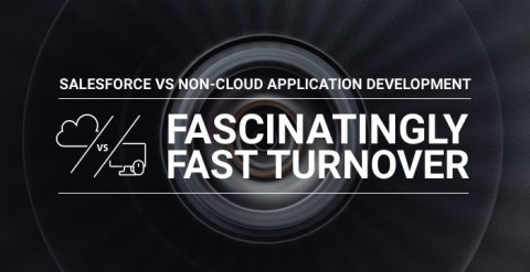 Fascinatingly fast turnover in Salesforce
