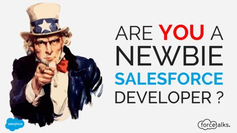 Are You a Newbie Salesforce Developer?