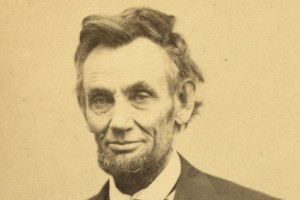 historical photo of Abraham Lincoln